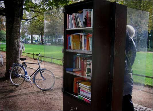 Biblioteke i knjižare na otvorenom Bon-Nema%C4%8Dka