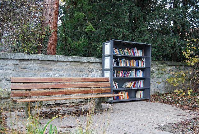 Park in Uberlingen, Germany