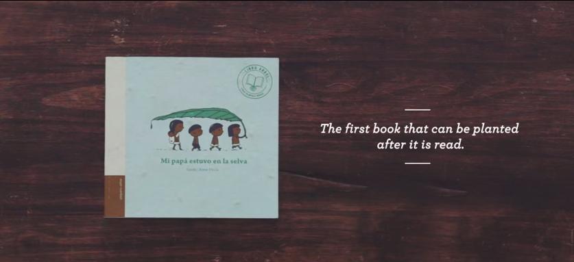 Knjiga iz koje može da izraste drvo
