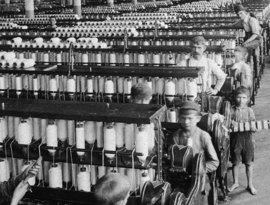 Peščanik-Olympian-Cotton-Mills-Columbia-South-Carolina-1905-Hulton-Archive-Getty-Images