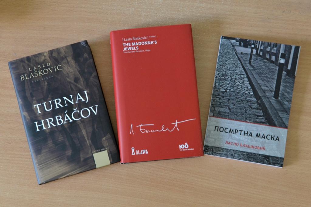 arhipelag-Laslo Blašković Tri romana u prevodu