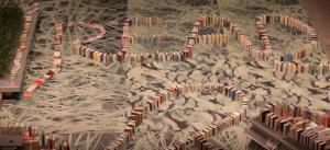 Najzanimljiviji domino lanac knjiga