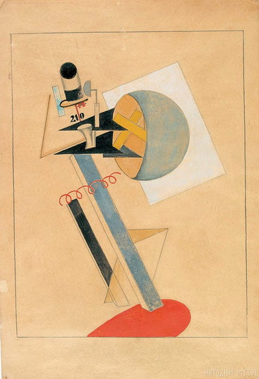 crteži-El-Lisicki-Konstrukcija-1922