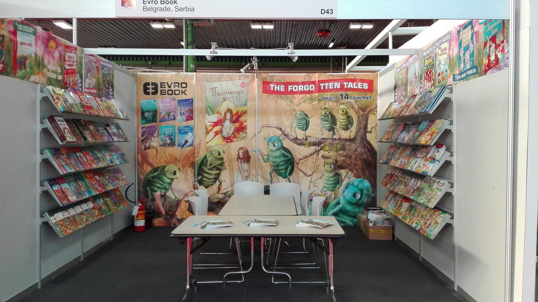 Evro Book na Međunarodnom sajmu dečjih knjiga u Bolonji