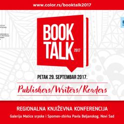 BOOK TALK 2017: regionalna književna konferencija