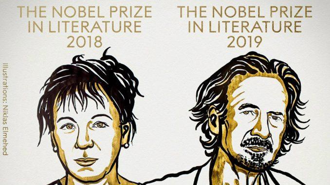 dva dobitnika Nobelove nagrade